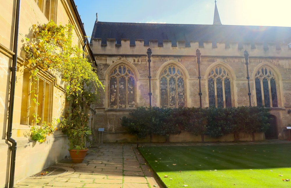 Chapel Quad, Lincoln College, University of Oxford