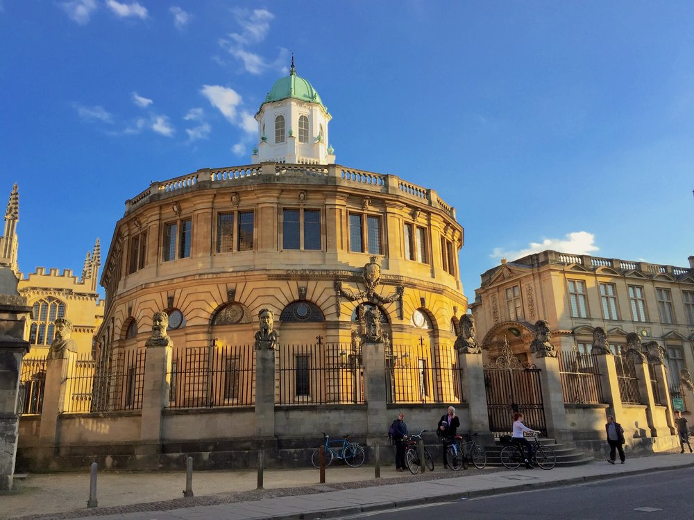 Sheldonian Theatre, Broad Street, Oxford
