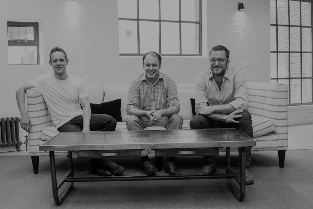 """Picus supported us with their comprehensive market understanding in the early phases of building ourbusiness and has been an excellent sparring partnerfor us ever since."" - Matt Robinson, Phil Cowans, and James Turford, Founders of Nested"
