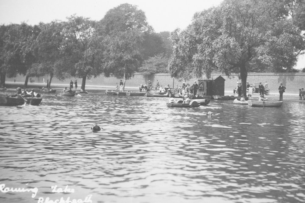 Folly Pond. 1940s/1950s