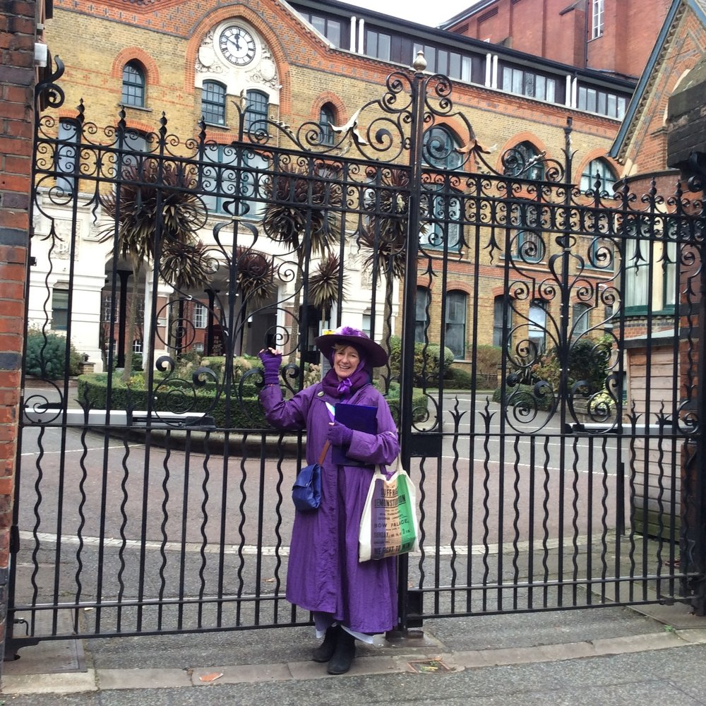the-blackheath society events maureen corcoran suffragette walk and talk