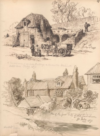John Gilbert two local cottages.jpeg