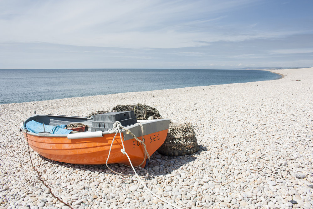 chesil beach orange boat.jpg