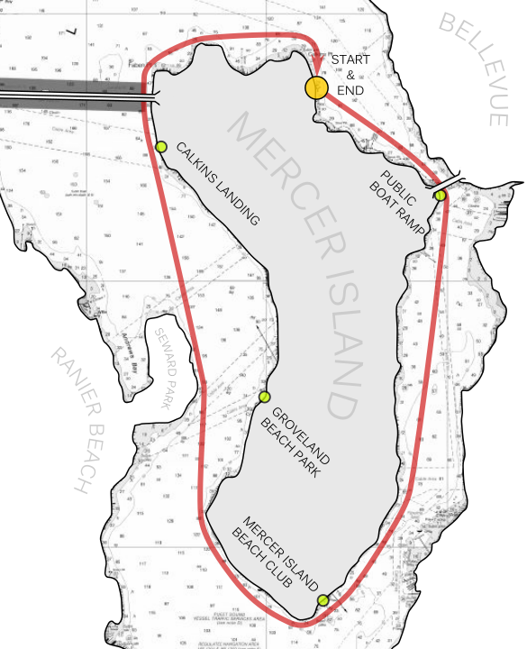 Mercer Island - Shortest Route