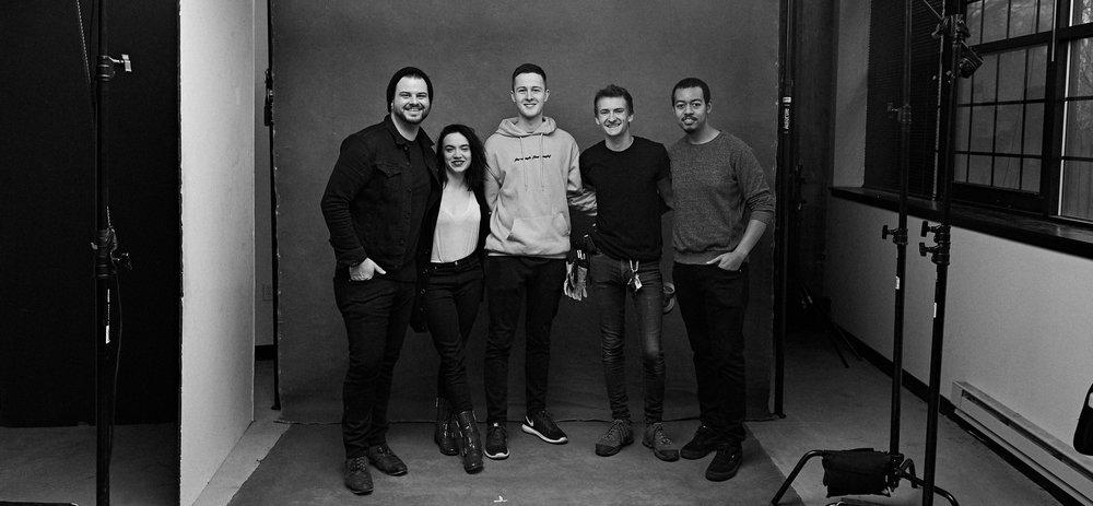 Clay & the interns.jpg