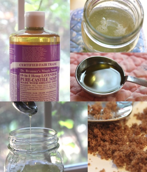 Homemade Lavender Body Wash