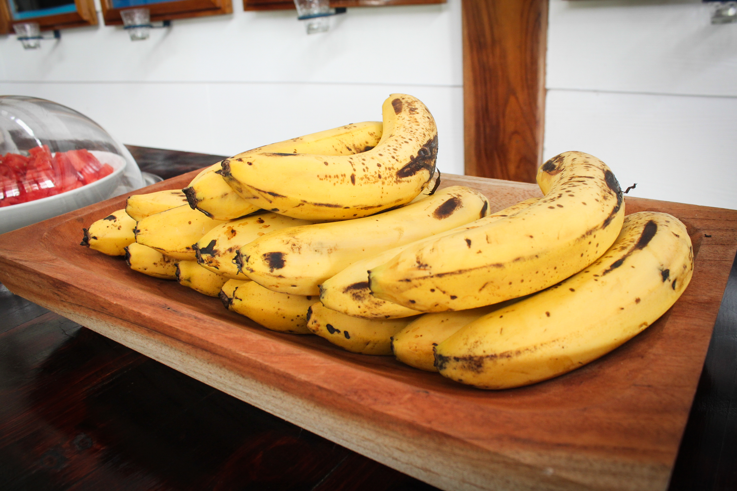 Always ripe bananas available!