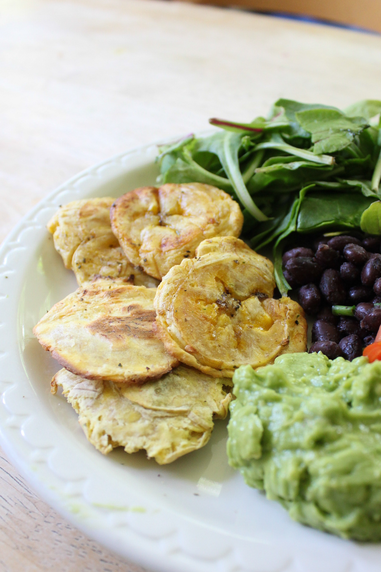 Baked Patacones