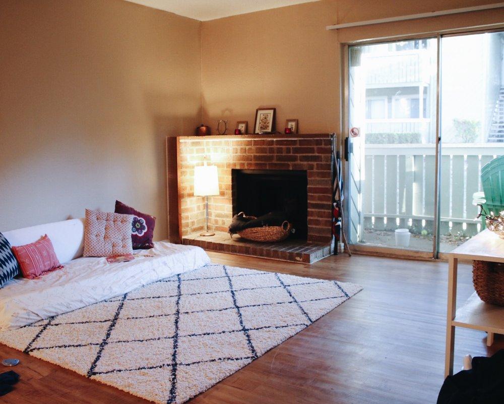 Minimalist Family Living Room