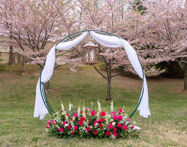 Custom Arch - Fully customizable to fit any event or theme.2 sizes available- 7ft. and 8 ft.