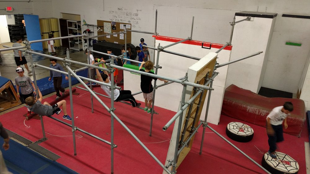 $49 / Month - One Junior Parkour class per week