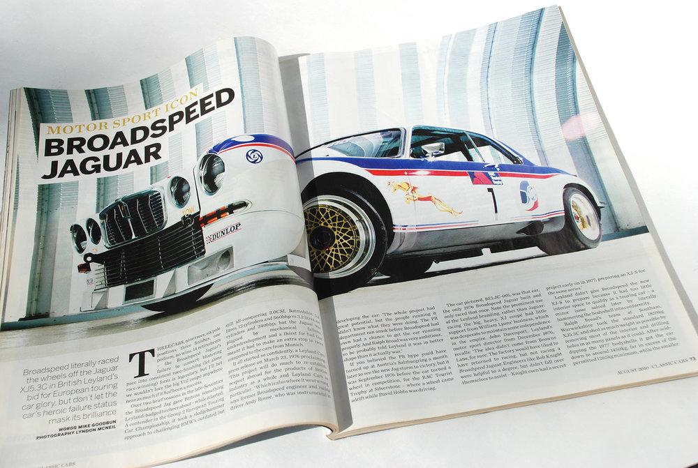 XJ 5.3C Broadspeed Jaguar Motor Sport Icon Classic Cars August 2010 web.jpg