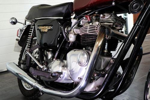 Sold 1978 Triumph Bonneville T140v Sayer Selection Ltd Uk Sayer