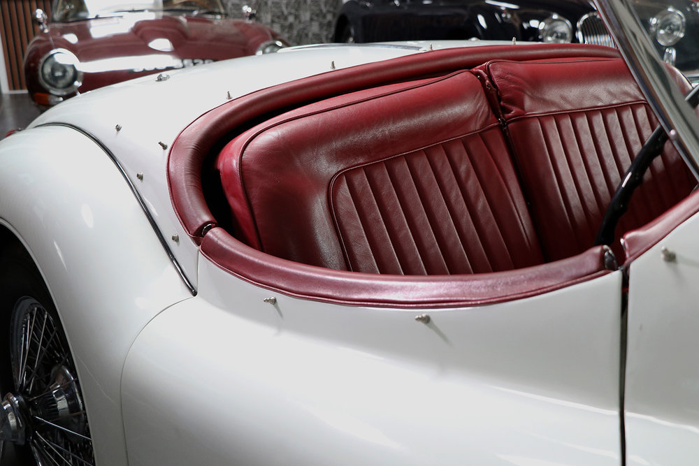 1957 Jaguar XK140 MC RHD Roadster For Sale at Sayer Selection Ltd. UK