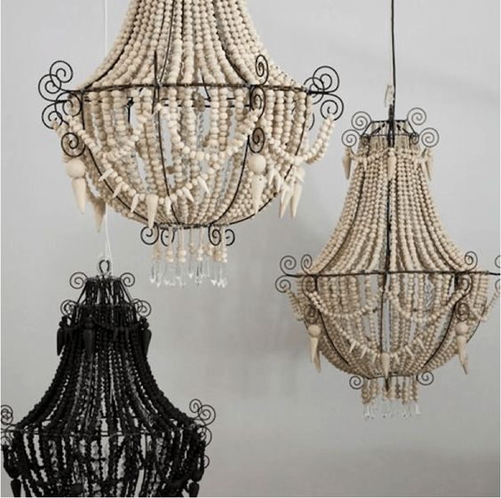 How great would this oversized chandelier look above my kitchen table!