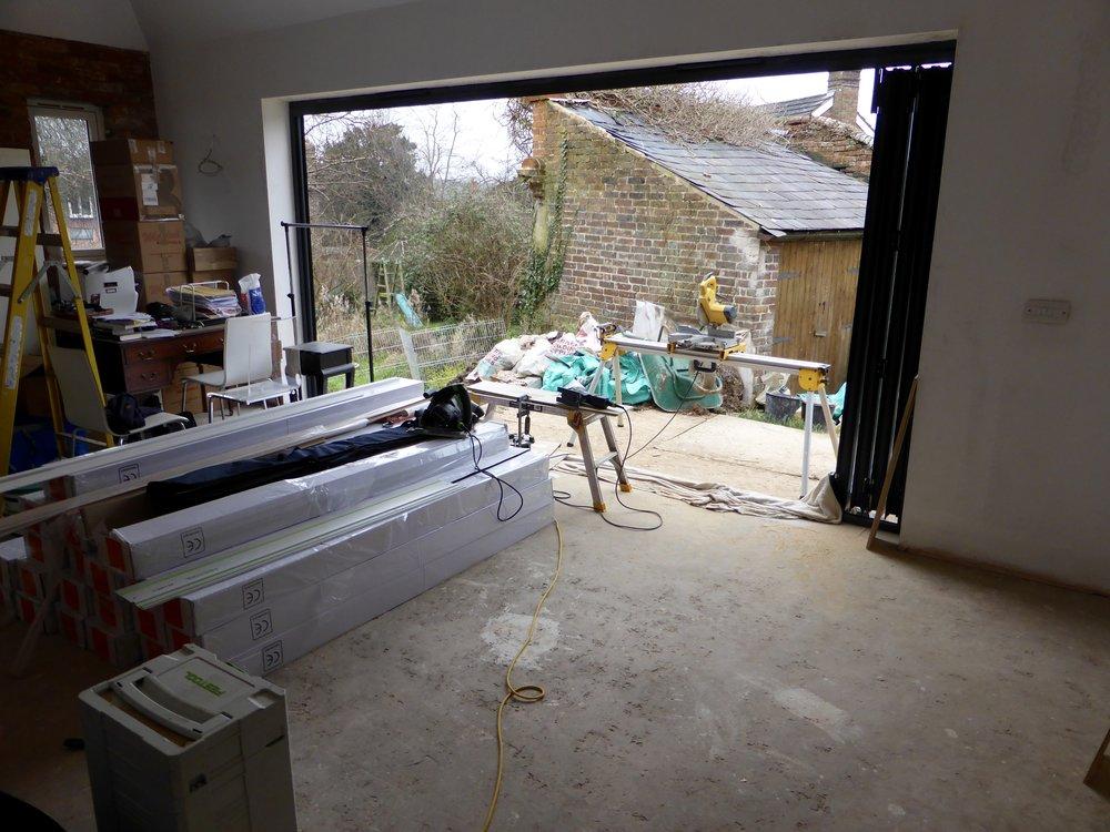 Flooring arrived........