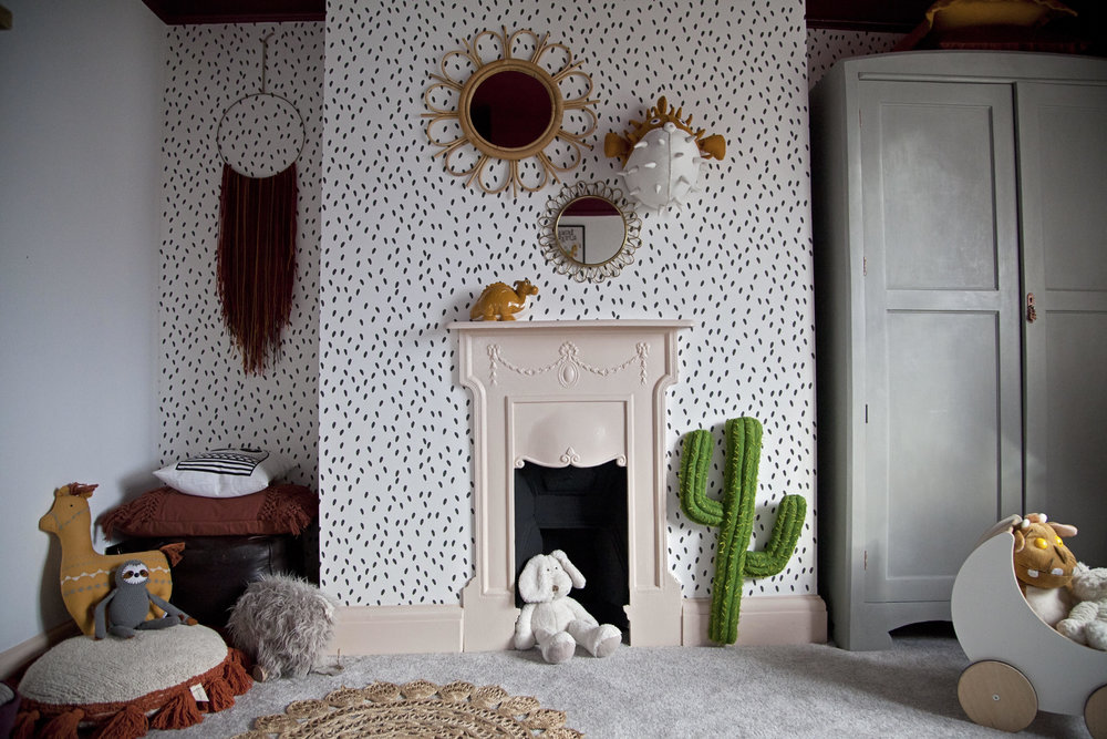 The wall cactus is from  @Smallable_store. ......