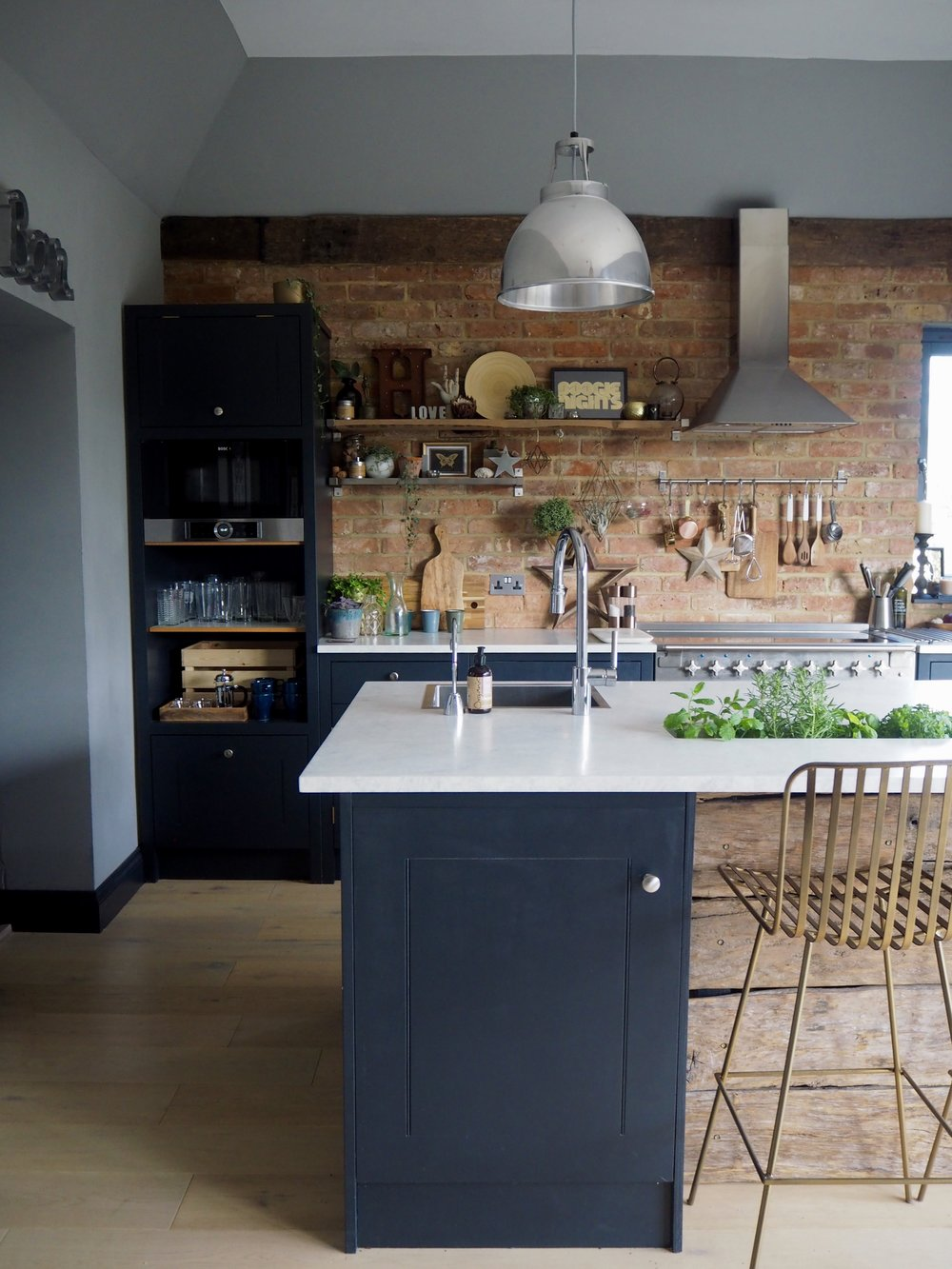 I Absolutely Love The Rustic Feel The Brick Wall Gives The Kitchen, It Adds  A Real Warmness To The Space And Is The Main Focal Point Of The Room.