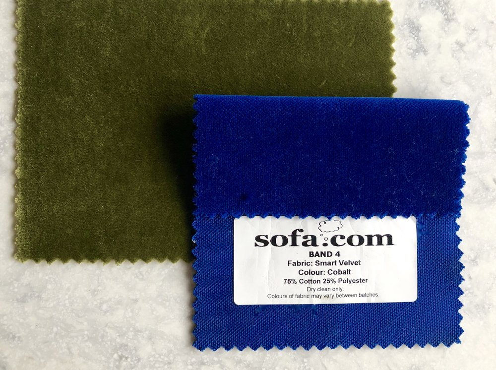 My two favourite colour samples….. The green just stood out for me though.