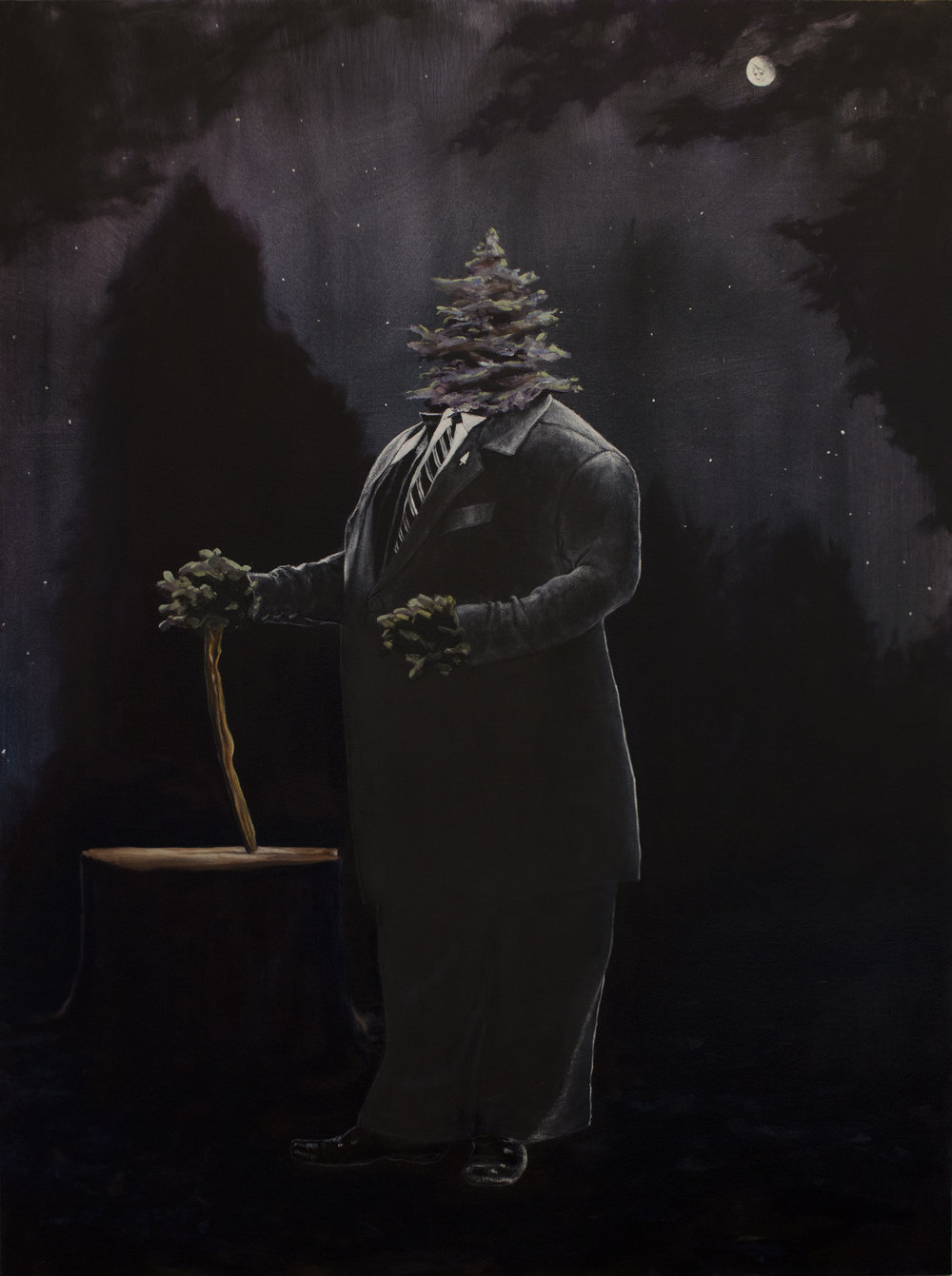Portrait of Tree XIV