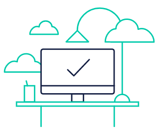 マルチデバイス利用   モバイルやPCを使った新しい働き方には、いつでも、どこでも、必要な時に情報にアクセスできることが求められます。