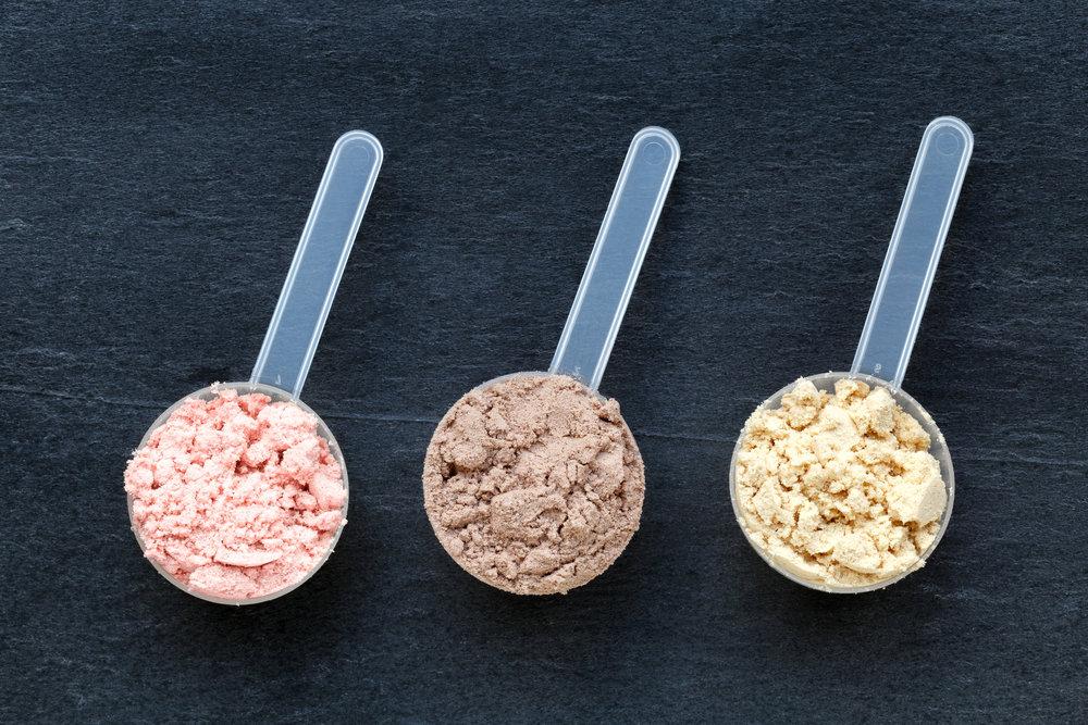 protein-powder-choices-vanilla-chocolate-strawberry