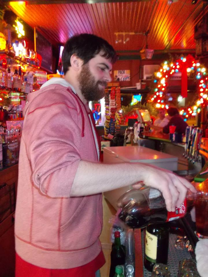 Christmas Joe Bartending.jpg