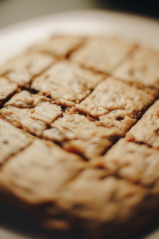 Peanut Butter Honey Blondies Recipe 1