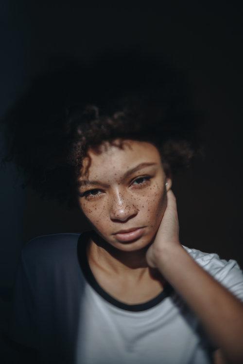 Simone @ State Management, Brooklyn portrait photography by Megan Breukelman