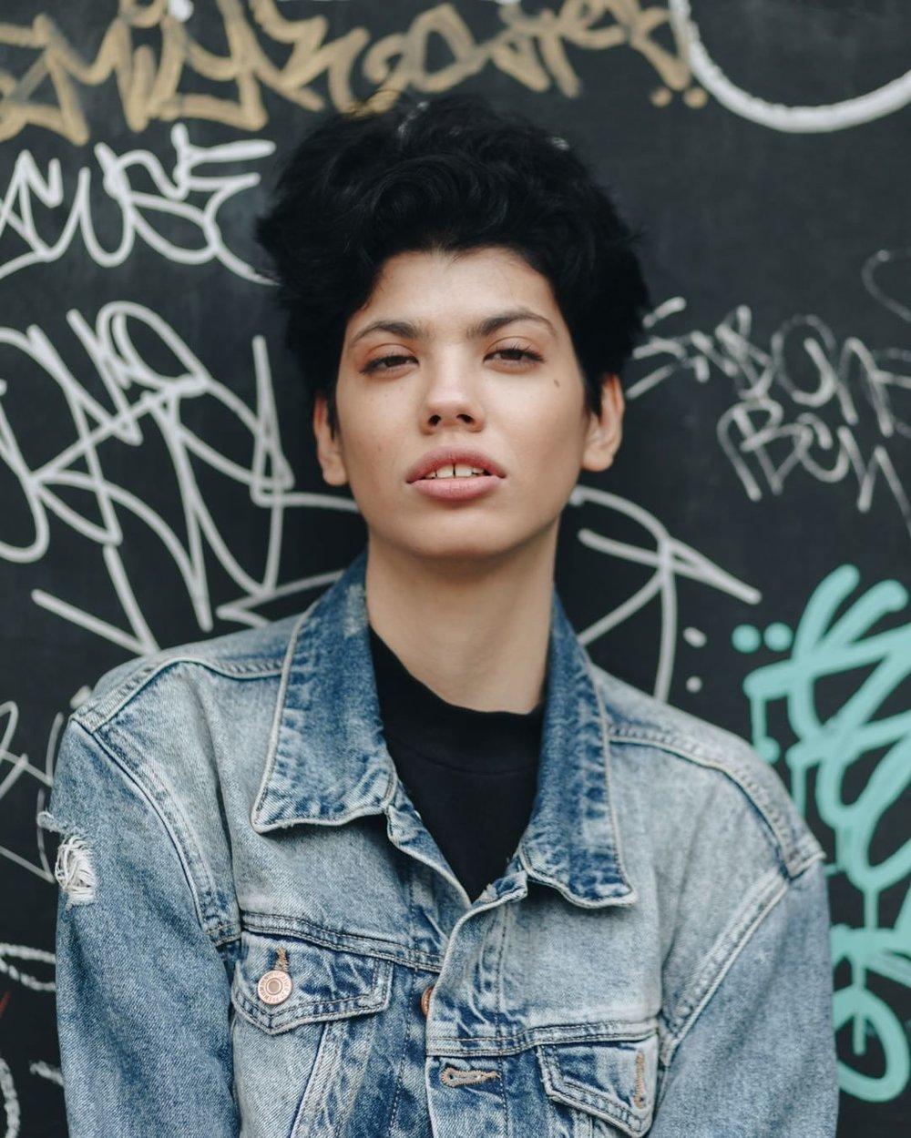Alexia Olguin Brooklyn portrait photography by Megan Breukelman