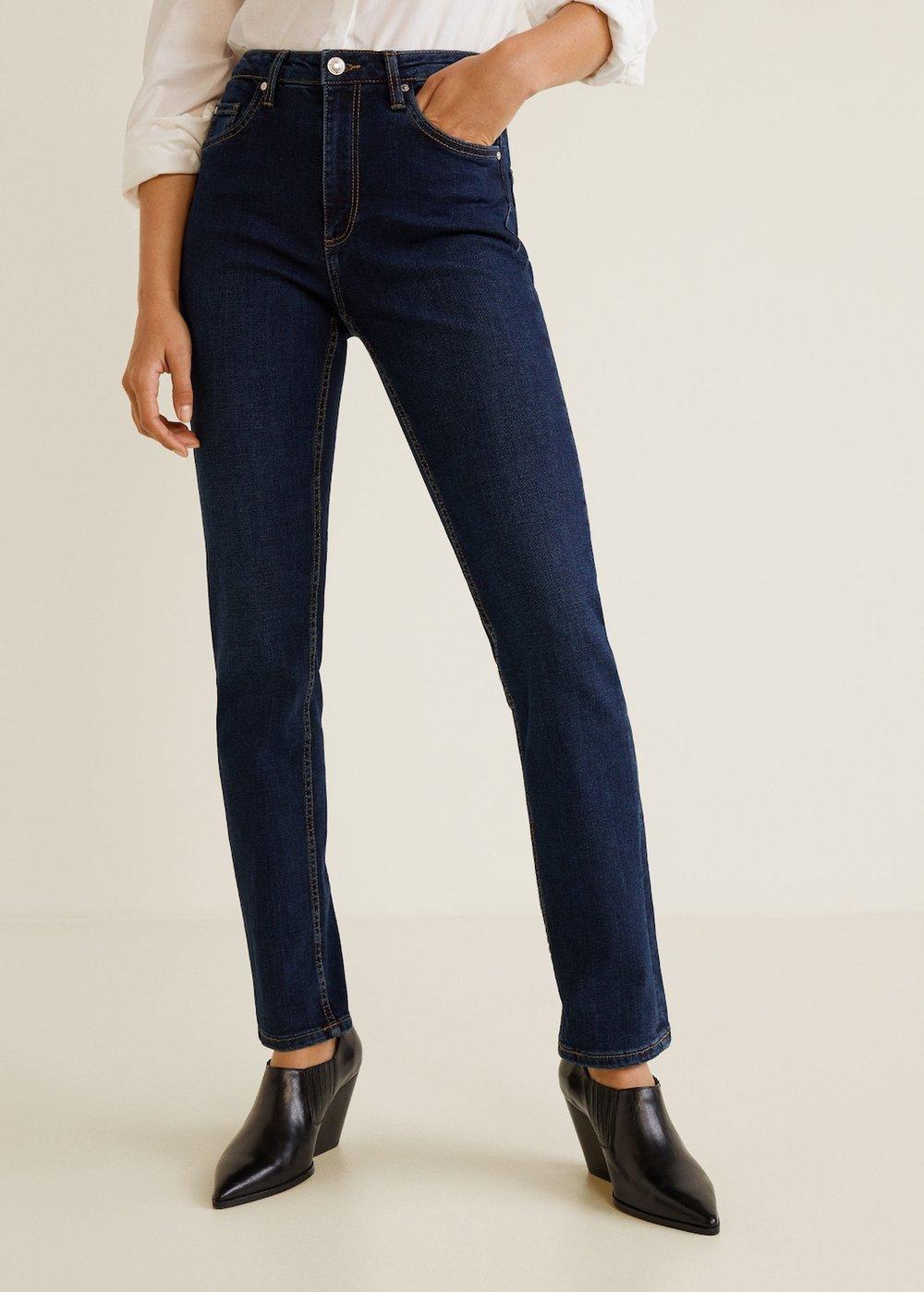 Mango Straight Jeans Anna     – $32.19