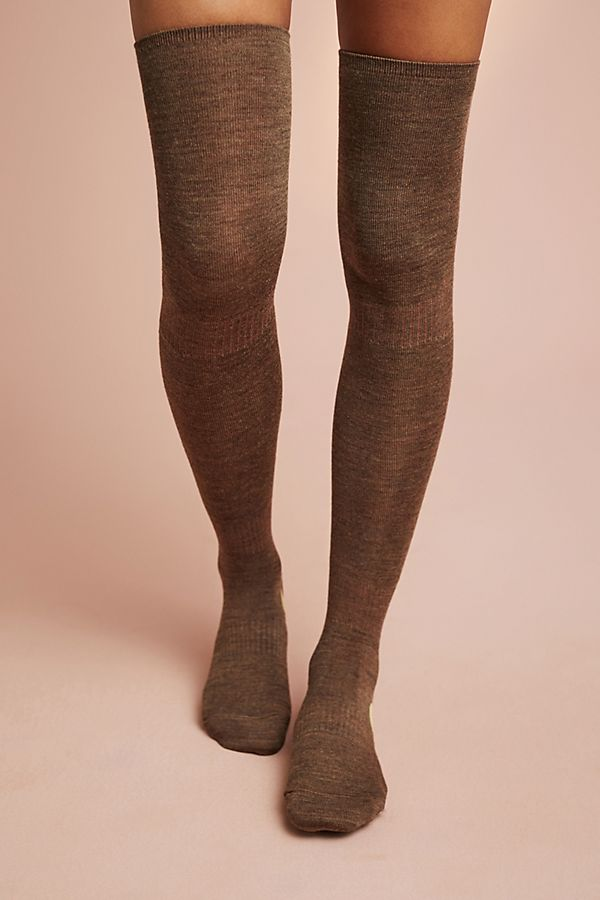 Anthropologie Dottie Thigh-High Socks     – $30