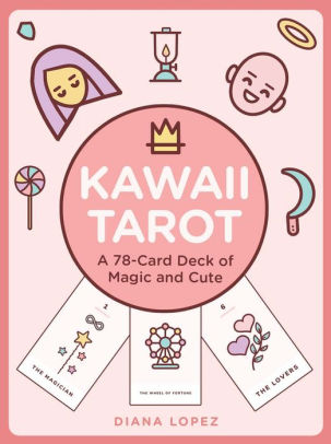 Kawaii Tarot: A 78-Card Deck of Magic and Cute     – $12.62