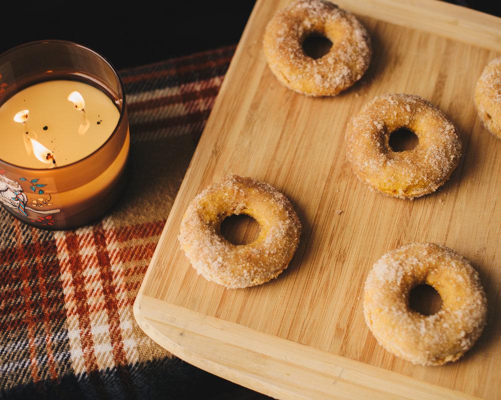 Easy pumpkin donut recipe