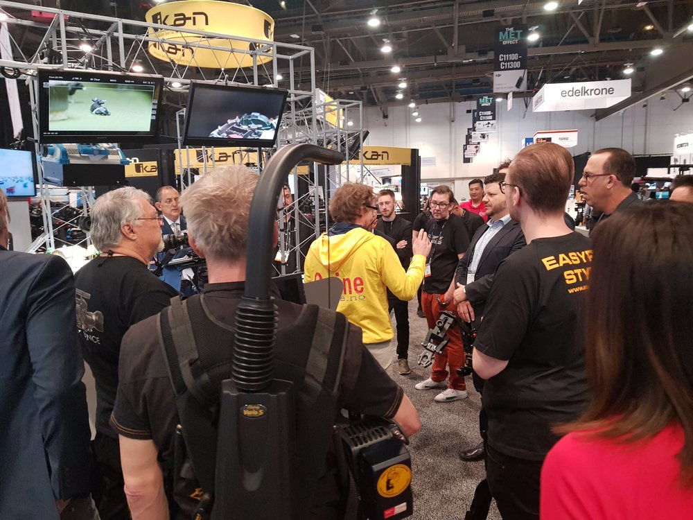 Quine co-founder Gunleik Groven demo at NAB 2018