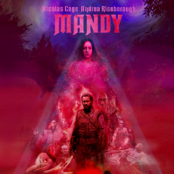 - Mandy (2018)Panos Cosmatos / Jóhann Jóhannsson-- Musical Sound Design + Programming