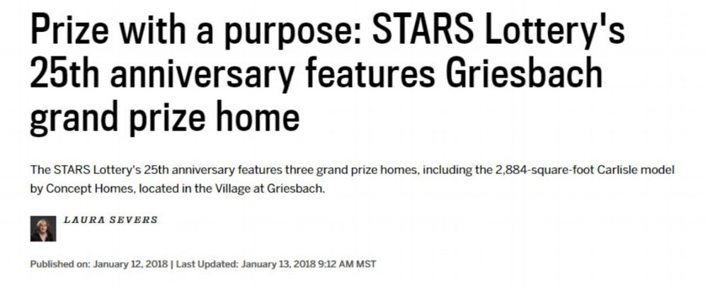 Kevin Wilson creates  stunning decor for STARS Lottery home 2018.  Read article  here .