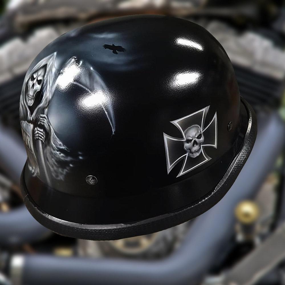 Grim Reaper Bike Helmet