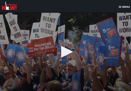 DEMOCRACY NOW! In Historic Move, AFL-CIO Expands Ranks with Vote to Include Non-Union, Immigrant, Low-Wage Workers - SEPTEMBER 12, 2018