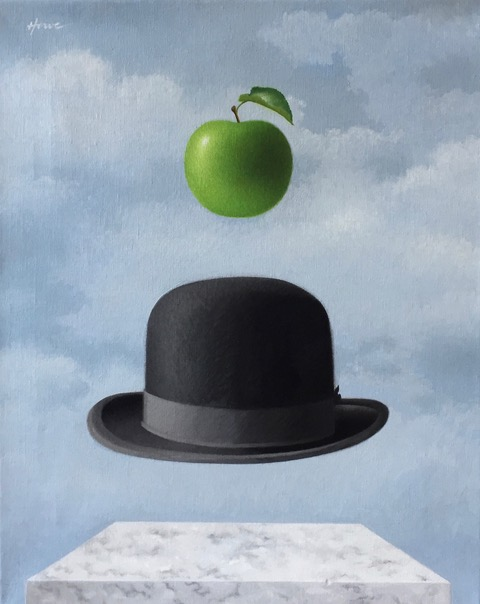 London Calling (homage to Magritte)
