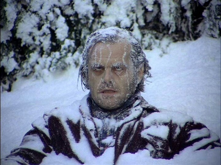 Actual image of me walking outside in Minnesota.