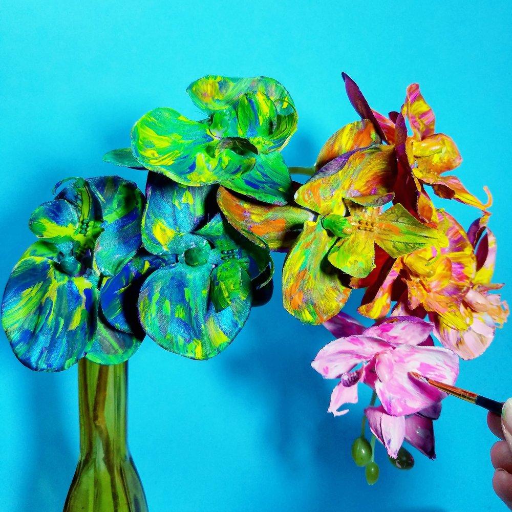 Van Gogh Orchids?!