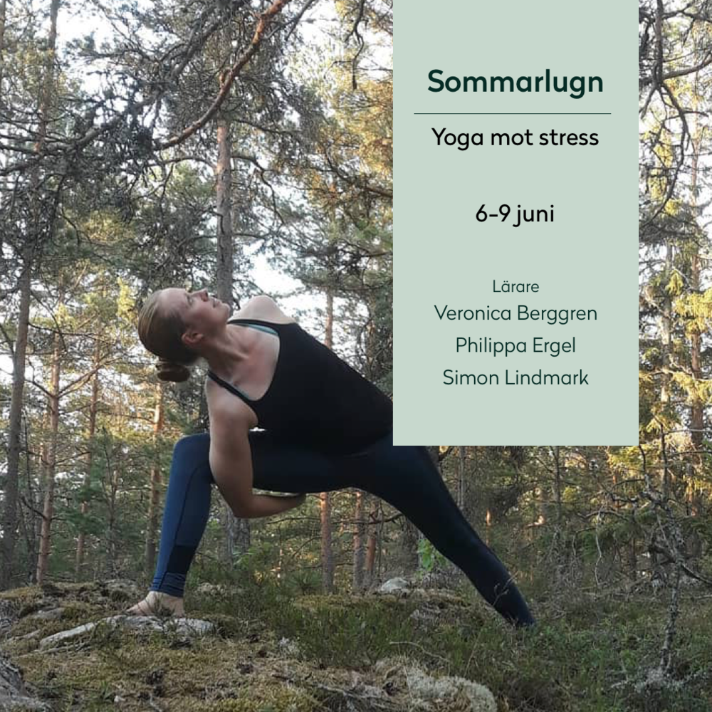 Summer equanimity - Start your summer (6-9 June) with a calming retreat where we focus on activating the parasympathetic nervous system (to restore body and mind) - through slow vinyasa, yin, yoga nidra and breathwork.Find more info here (in Swedish)
