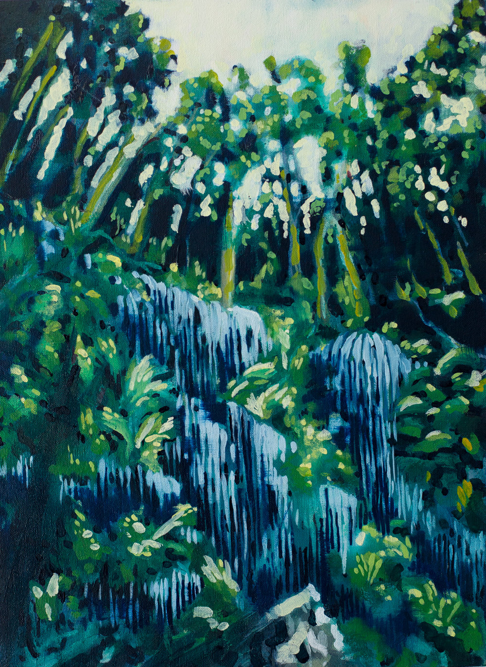 ' Buitengracht' , Leila Walter, Oil on canvas, 400 x 540 x 40 mm, R 4340.00 excl. vat.