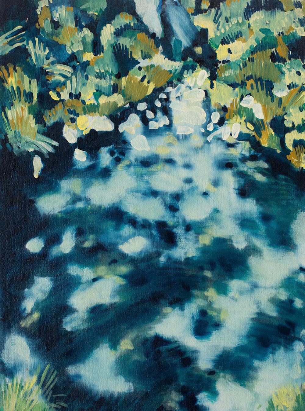 ' Hidden Gem'   Leila Walter  Oil on canvas  400 x 540 x 40 mm  R 4340.00 excl. vat