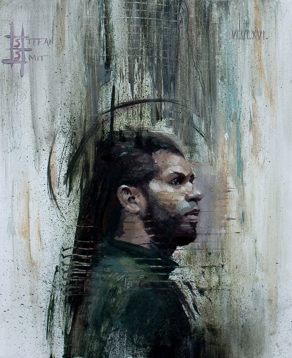 ' Collected Thought' (Series 1-4)'   Stefan Smit  Oil paint on archival panel  210 x 255 x 30 mm  R 6 670. 00 excl. vat (each)