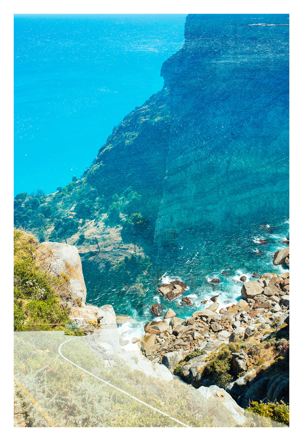 ' Chapman's Peak Illusion II'   Dylan Culhane  Giclee print on Hahnemühle  810 x 112 x 30 mm  Edition 2 of 10  R 10 500. 00 excl. vat