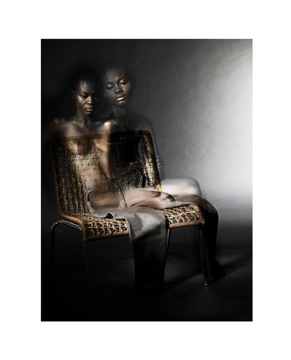 ' Composure '   Malcolm Dare  Archival Print on Hahnemuhle Photo Rag  1285 x 950 x 60 mm   R 25 000.00 excl. vat