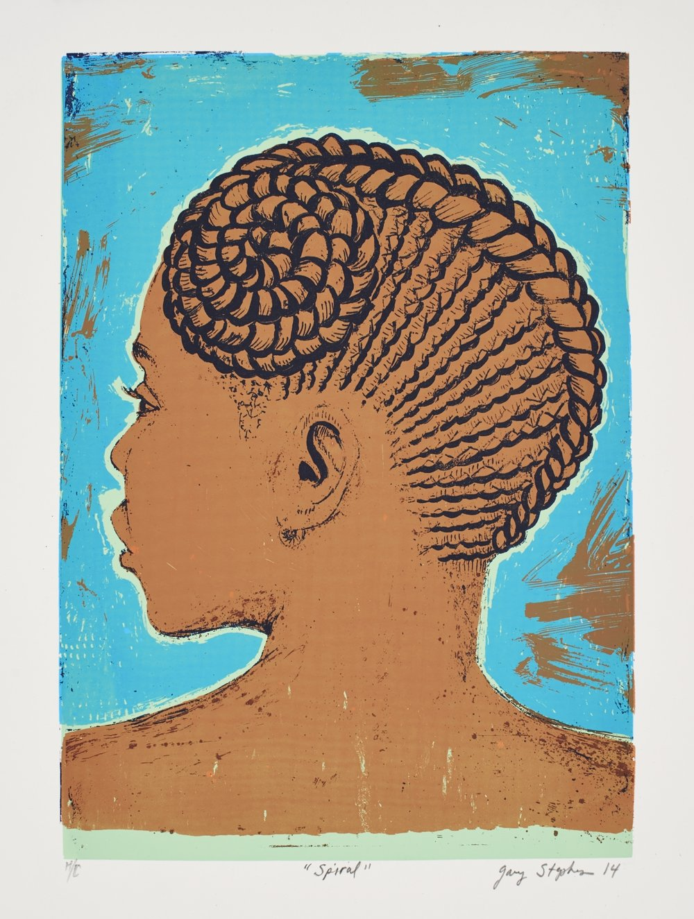Spiral   Gary Stephens  Silkscreen on paper  Edition of 44  R 3 200.00 excl. vat