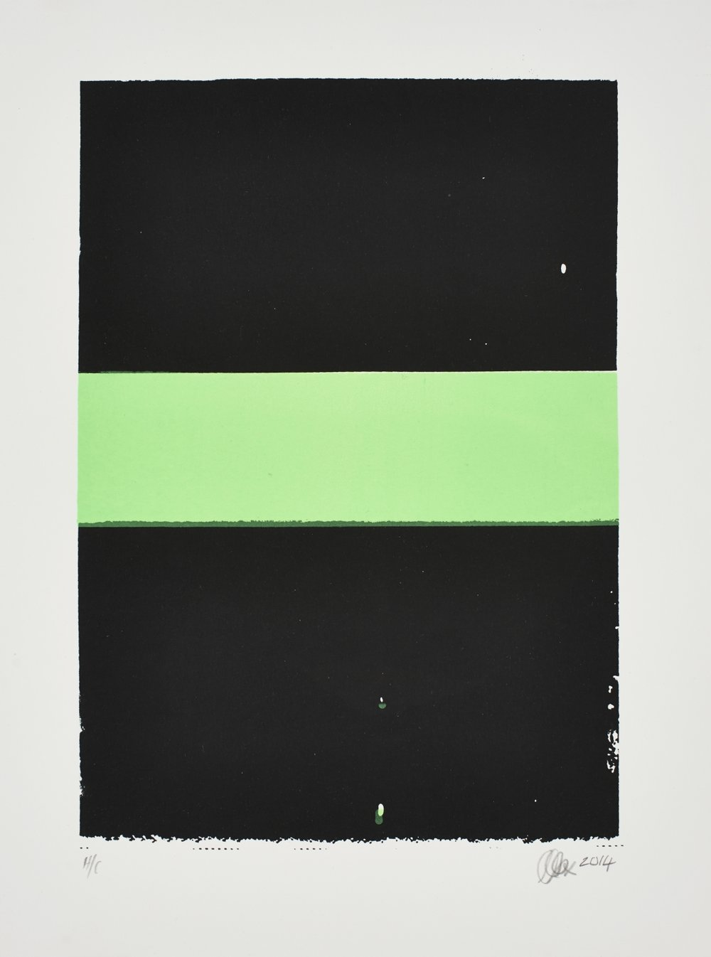 Untitled   MJ Turpin  Silkscreen on paper  Edition of 44  R 3 200.00 excl. vat